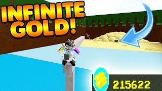 EASIEST GOLD GRINDING GLITCH! | Build A Boat For Treasure ROBLOX