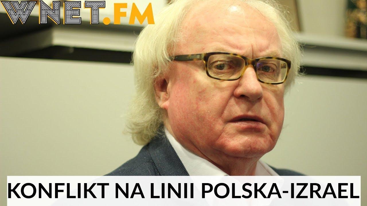 Makowski: Granda na linii Polska-Izrael jest bardzo korzystna. Zaczęło się szczerzej o Żydach mówić