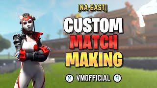 #familyfriendly (NA-EAST) CUSTOM MATCHMAKING SOLO/DUO/SQUAD SCRIMS FORTNITE LIVE / !giveaway !code