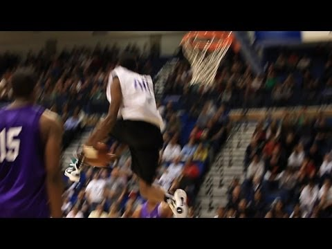 Jeremy Evans Dunking During the Lockout