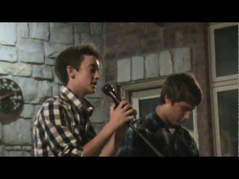 Blake & Dylan performing 'Heaven's ' by Phil Whickam