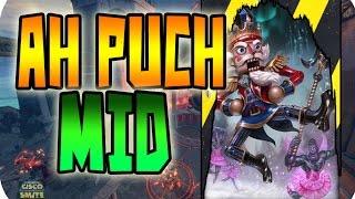 Rotando y ayudando | Ah Puch Mid | iCiscoSG | Smite en español