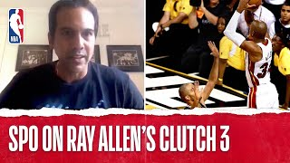 Spoelstra On Ray Allen's Clutch 3 In Game 6 Of The 2013 NBA Finals.