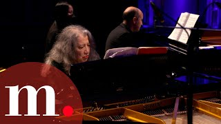 Martha Argerich and Nelson Goerner perform Bartók's Sonata for Two Pianos and Percussion, Sz. 110