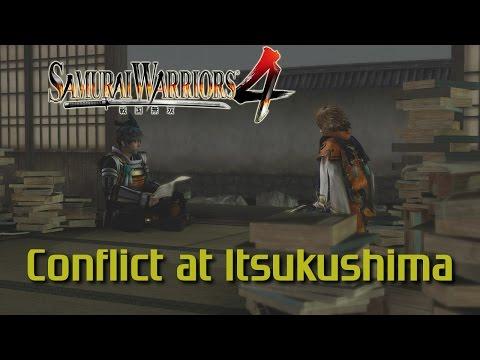 Samurai Warriors 4 [PS4] | Legend of Chugoku | Conflict at Itsukushima