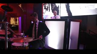 DESI WEDDING WITH DRUMMER! DJ YOGI-G & DAVE SHARMA KARMADJS HOUSTON WEDDING PRATEEK & SONU