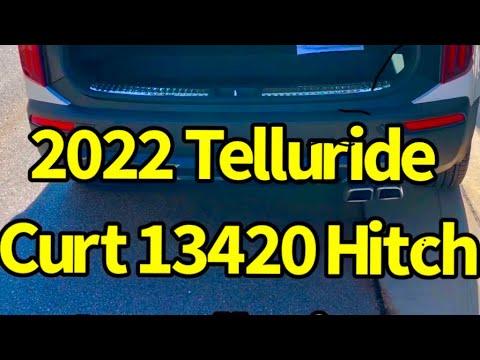 2022 Kia Telluride Hitch Install Curt 13420