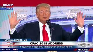 FULL: President Trump CPAC 2018 Speech (FNN)