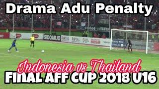 momen Adu Penalti di Final Indonesia vs Thailand (4-3), AFF U16 2018 GOR Delta Sidoarjo