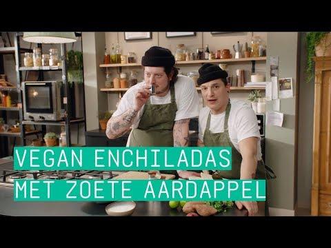 24Kitchen | Job & Perry's enchiladas met zoete aardappel | Wat Eten We Vandaag? | Afl. 92