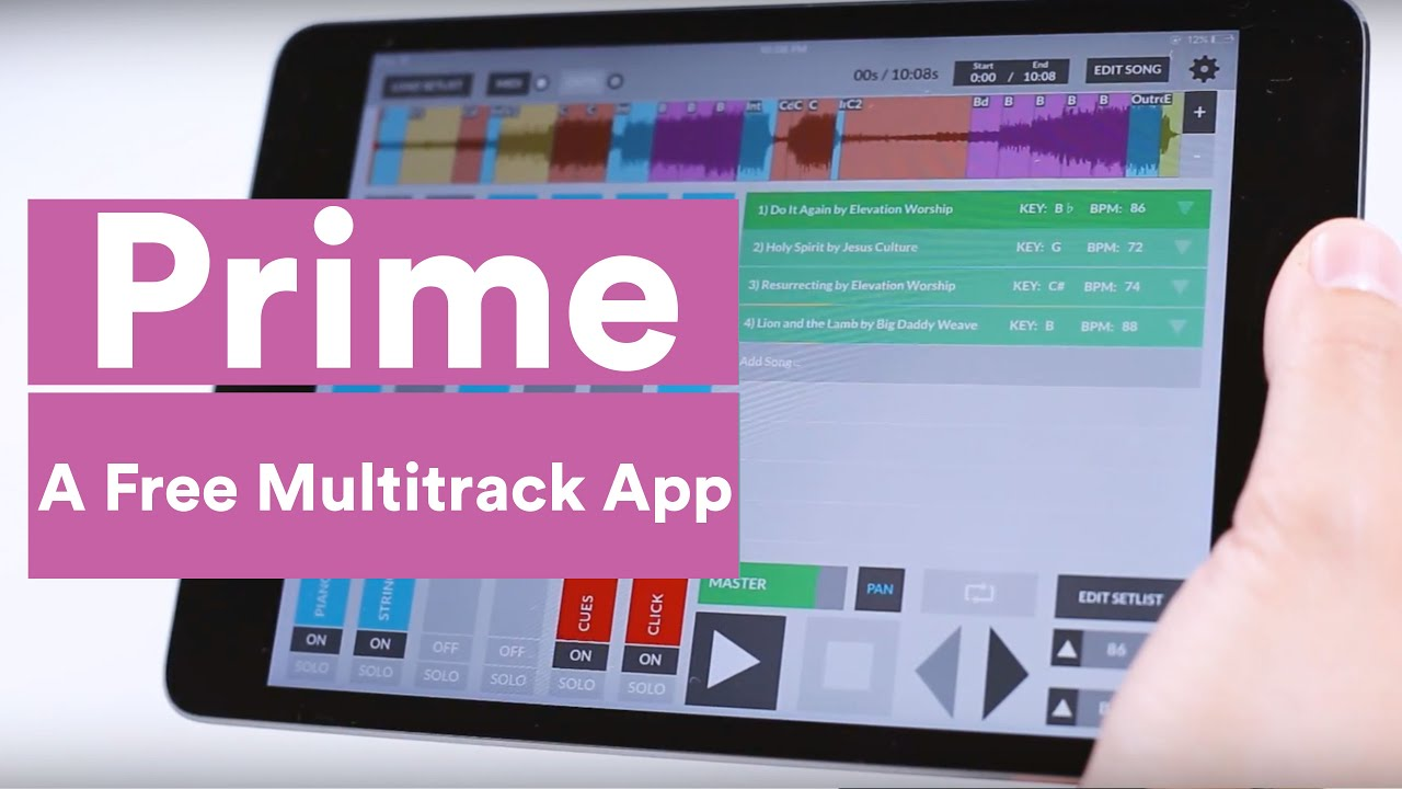 PRIME: A Free MultiTrack App