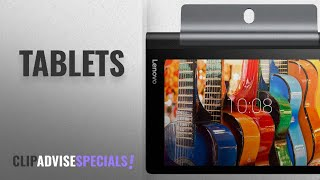 Top 10 Tablets [2018]: Lenovo Yoga Tab 3 8 Tablet (8 inch, 16GB, Wi-Fi + 4G), Slate Black