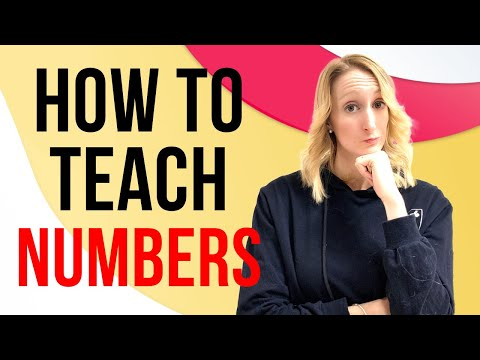 Teaching Numbers ESL Learners How to Teach Numbers to Kindergarten Young Learners