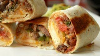 Burrito Harmony - Grilled Steak Burritos - Guacamole Recipe