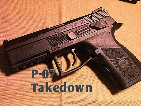 CZ P-07 Take down