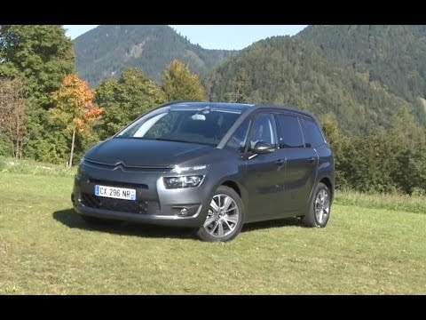 essai citroen c4 grand picasso 2 0 bluehdi exclusive youtube. Black Bedroom Furniture Sets. Home Design Ideas