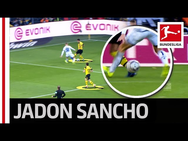 Sancho's Sensational Backheel Nutmeg Finished by Guerreiro