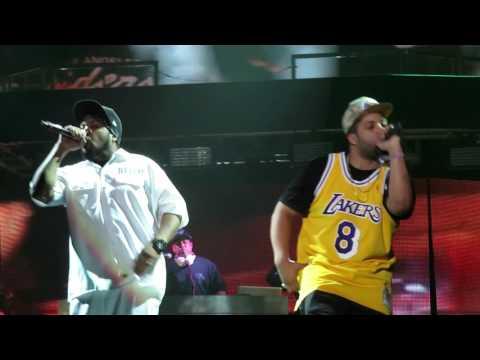 Ice Cube w/  NWA - Dope Man - Live @ Coachella Festival 4-16-16 in HD