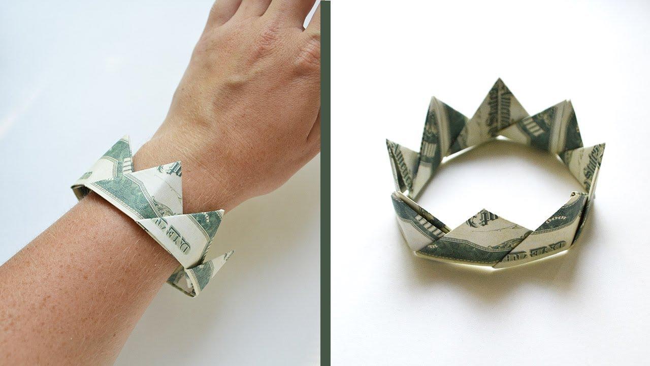 Money Bracelet  U0026quot Crown U0026quot