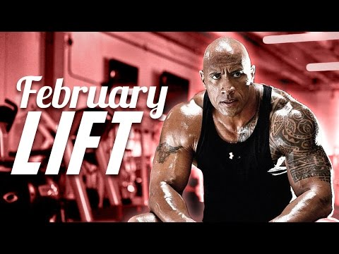 "FEBRUARY LIFT - The Rock during filming of ""The Fate of the Furious""!"