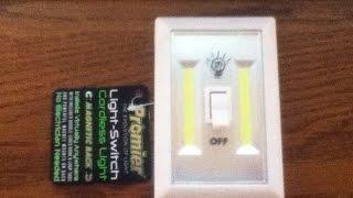 Promier Cordless Light Switch