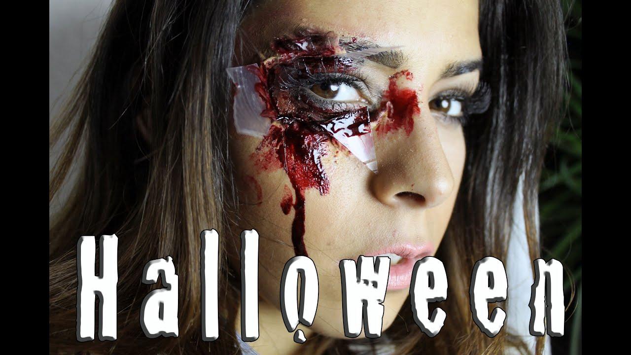 halloween make up tutorial sfx mit hausmitteln youtube. Black Bedroom Furniture Sets. Home Design Ideas