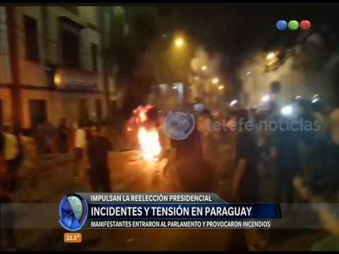 Incidentes y tensión en Paraguay - Diario de Medianoche