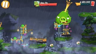 Angry Birds 2 King Pig Panic! (DAILY CHALLENGE) - 3 LEVELS Gameplay Walkthrough Part 170