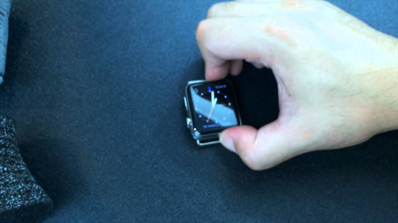 how to lock apple watch screen