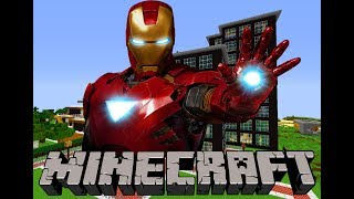Iron Man 2 Minecraft Finger Family | Finger Family | Nursery Rhymes For Children in Minecraft