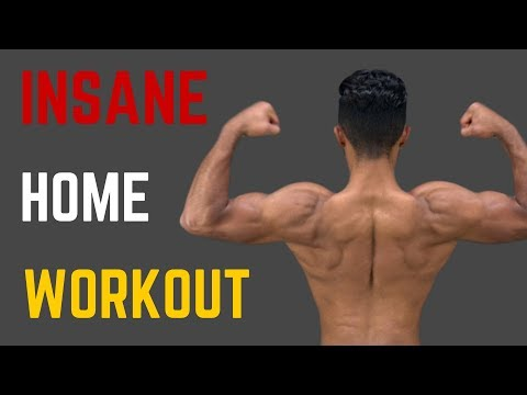 Bodyweight Muscle Building Home Workout! (NO Equipment NEEDED!)