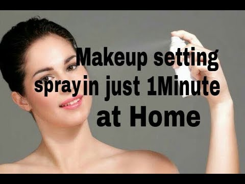 How to make setting spray at home ||100%working