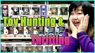 Toy Hunting & Thrifting (with Jenny) - Tokidoki, My Litte Pony, Disney and Bratz!!