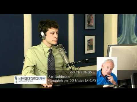 Art Robinson Tells David Pakman Rachel Maddow Attacked Him