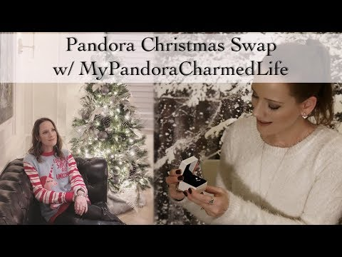 Pandora Jewelry Christmas Swap |  MyPandoraCharmedLife