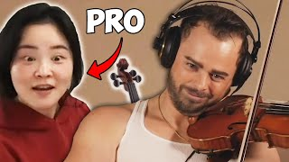 I Hired PRO Violin Teachers but Pretended to be a Beginner