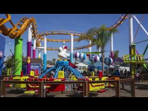 Tour of Santa Monica Pier and Pacific Park - Southern California Adventure
