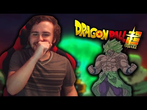 Dragon Ball Super: Broly Movie Trailer (Live Reaction/Review)