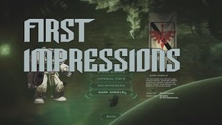 First Impressions - Space Hulk Ascension Dark Angels DLC