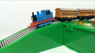Thomas and Friends Toy Trains James, Percy, Edward, Annie, Clarabel, Egg Surprise