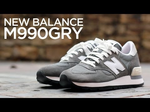 huge selection of 3af52 a95cf Closer Look: New Balance 990 Re-Issue - Original Grey