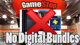 Gamestop No Longer Selling Digital Download Console Bundles?