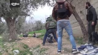 شاهد | جانب من المعارك اليومية على جبهات دمشق الشرقية من جهة بساتين برزة