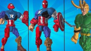 Marvel Super Heroes Smasher Spiderman | Smash + Mix
