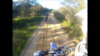 WR400 and CRF250's GO FAST