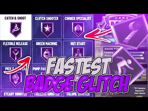 *NEW* NBA 2K20 FASTEST MAX BADGES GLITCH + MYPOINTS GLITCH AFTER PATCH 1.03! (PS4 & XBOX)