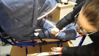 Детские санки Gigi eBabyDay Termoline - обзор