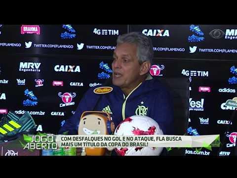 Rueda Faz últimos Ajustes Antes Da Final Da Copa Do Brasil