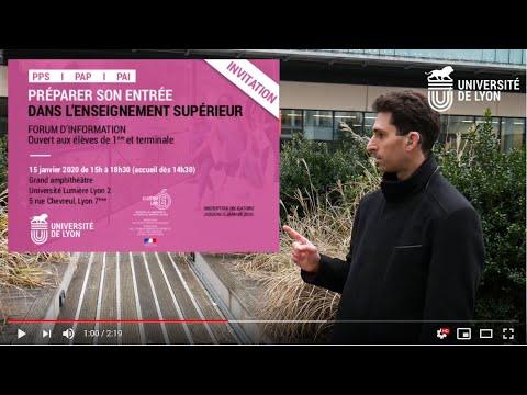 Forum d'information sur les études supérieures pour les élèves en situation de handicap - vidéo LSF