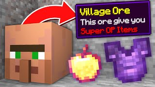 Minecraft but ORES are CUSTOM MOBS